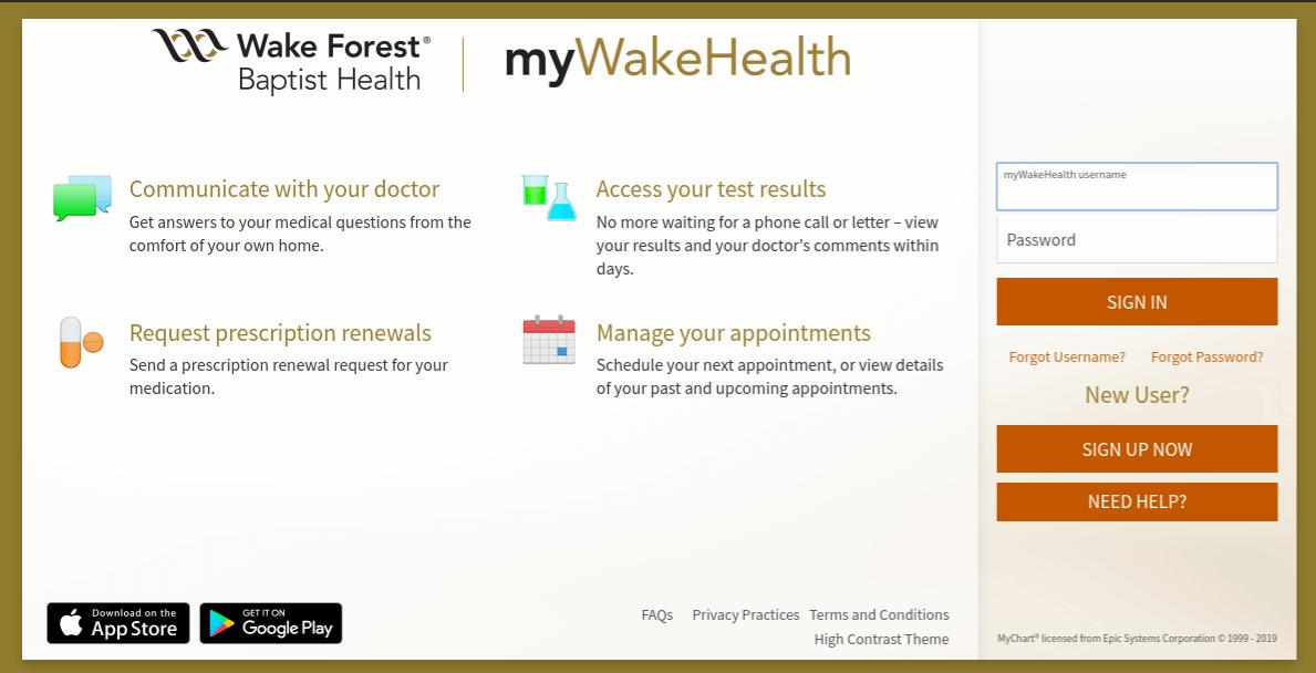 mywakehealth-org