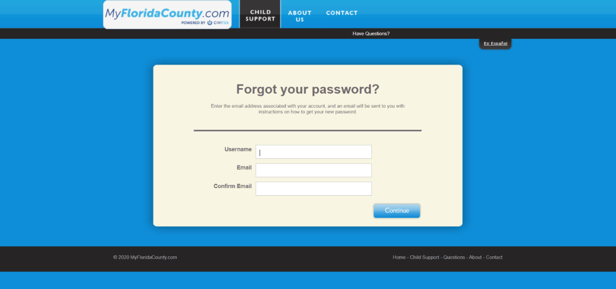 myfloridacounty-password
