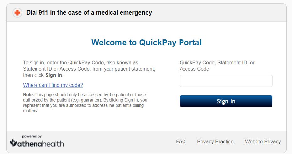quickpayportal-signin